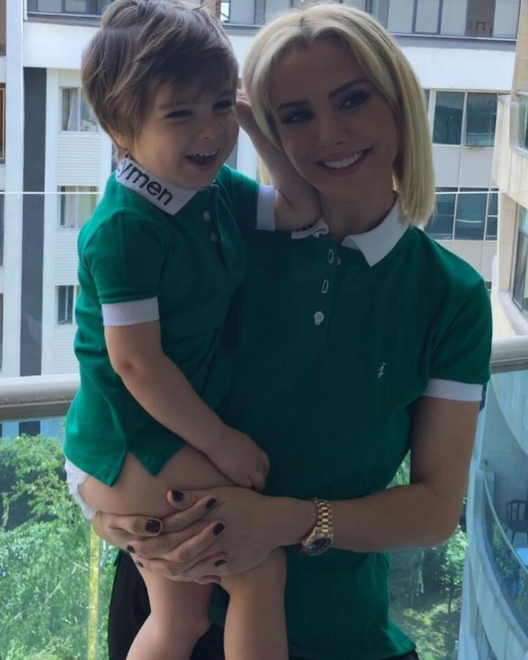 Ece Erken oğlunun doğum gününü kutladı: Belki mükemmel bir anne değilim ama...